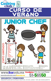Curso Junior Chef